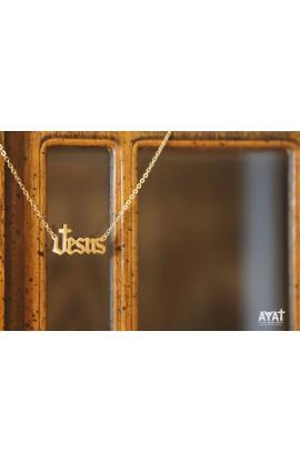 JESUS NECKLACE (GOLD)