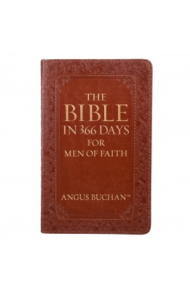 The Bible in 366 Days for Men of Faith LuxLeather Edition
