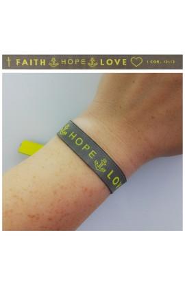Faith Hope Love AYAT New Tie Band 30 cm