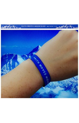 Faith Moves Mountains AYAT New Tie Bands 30 cm