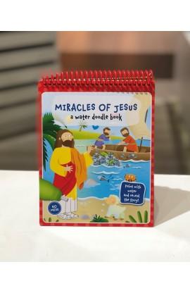 MIRACLES OF JESUS WATER DOODLE BOOK