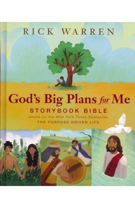 God's Big Plans for Me Storybook Bible