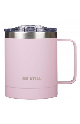 Mug SSteel Camp Pink Be Still
