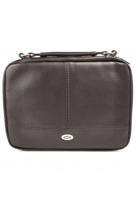 Brown Two Fold Organizer Thinline Small