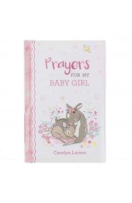 Gift Book Prayers for My Baby Girl