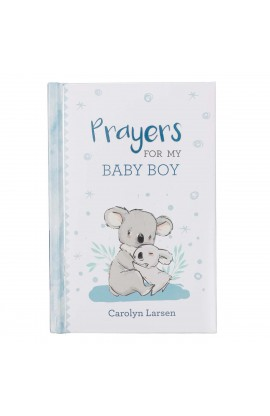 Gift Book Prayers for My Baby Boy