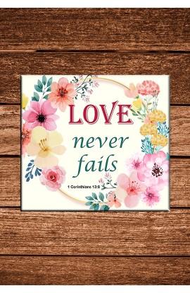LOVE NEVER FAILS COASTER