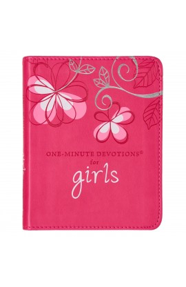 One-minute Devotions For Girls LuxLeather Edition