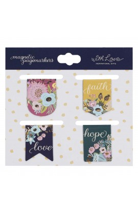 Magnetic Pagemarker Faith Hope Love