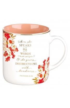 Mug Ceramic When She Speaks