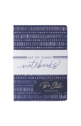 Notebook Set LG Blue Be Still Strong Joyful