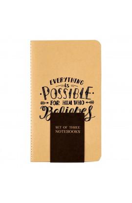 Notebook Set SM Neutral Rejoice