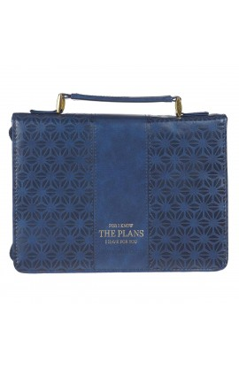 Bible Cover Navy Pattern I Know the Plans