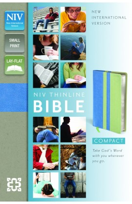 NIV THINLINE BIBLE COMPACT SURF MINT