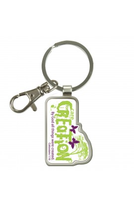 Care for Creation - Epoxy Keyring