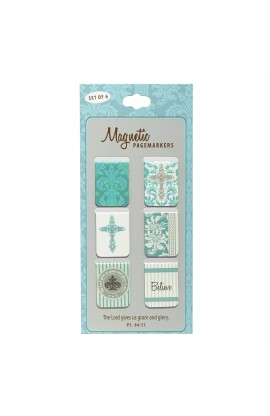 """""""Believe"""" Set of 6 Small Magnetic Pagemarkers"""