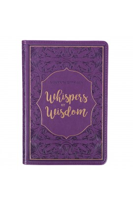 Gift Book Faux Leather Whispers of Wisdom