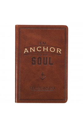 Gift Book Faux Leather An Anchor for the Soul